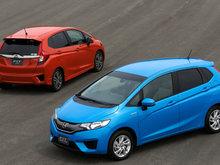 La Honda Fit 2015 prisée pour sa sécurité