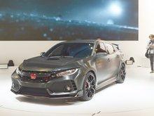 Une nouvelle Honda Civic Type R présentée au Mondial de Paris