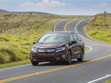 Offrez à votre famille un environnement sécuritaire et confortable avec la Honda Odyssey 2018 à Hull, Québec