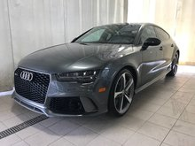 Audi RS 7 Performance 605HP 4.0L 2016