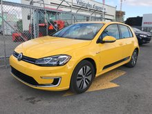 2017 Volkswagen E-Golf Demo Comfortline automatique