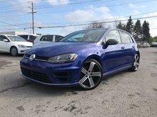 2016 Volkswagen Golf R GPS/Cuir/Kessy/Cam recul/Fender/bluetooth/292HP