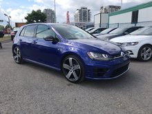 Volkswagen Golf R Nav/App-Connect/Kessy/Cuir/Camera/Man 2016