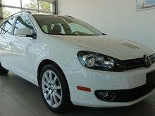 Volkswagen Golf wagon TDI Wolfsburg Cuir Toit NAV *PROMO PNEUS HIVER* 2014