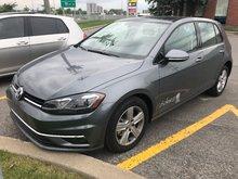 2018 Volkswagen Golf Comfortline Demo