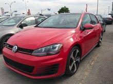 2016 Volkswagen GTI MANUELLE + GPS + BLUETOOTH Autobahn