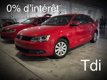 Volkswagen Jetta Sedan Trendline+ TDI Manuelle 2014