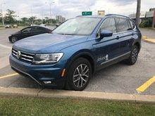 2018 Volkswagen Tiguan Comfortline Demo