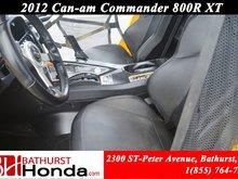 2012 Can-Am commander 800R - XT Winch! Mag Wheels! Hard Top!