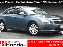 2012 Chevrolet Cruze LT Turbo w/1SA Low Price!! Turbo! Auto Start! Bluetooth! A/C!