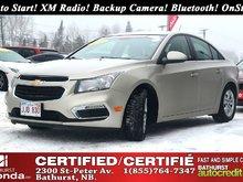 2016 Chevrolet Cruze LT - Limited Turbo! Auto Start! XM Radio! Backup Camera! Bluetooth! OnStar!
