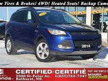 2014 Ford Escape SE - 4WD New Tires & Brakes! 4WD! Heated Seats! Backup Camera!