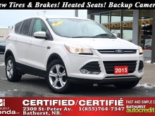 2015 Ford Escape SE - FWD New Tires & Brakes! Heated Seats! Backup Camera! Bluetooth!