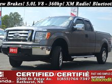 2011 Ford F-150 XLT New Tires & Brakes! 5.0L V8 - 360hp! XM Radio! Bluetooth! Tow Package! Bed Liner!