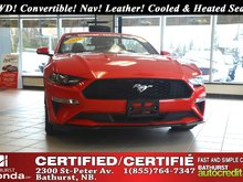 2018 Ford Mustang EcoBoost Premium - Low Km's! Low Km's! RWD! Convertible! Auto Start! Nav! Leather! Cooled & Heated Seats! Backup Camera!
