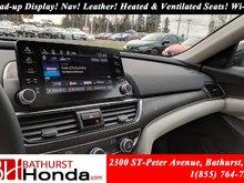 2018 Honda Accord Sedan TOURING Winter Tires! Head-up Display! Nav! Leather! Heated and Ventilated Seats! Wi-Fi! Honda Sensing!