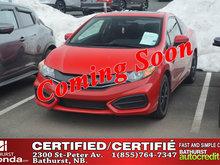 2015 Honda Civic Coupe EX 5 Speed Manual! Moonroof! Heated Seats! Backup and Lane Camera!