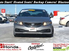2015 Honda Civic Sedan LX Auto Start! Heated Seats! Backup Camera! Bluetooth!