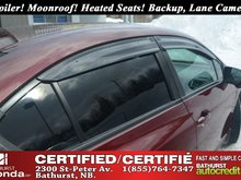 2015 Honda Civic Sedan EX Spoiler! Moonroof! Heated Seats! Backup and Lane Camera!
