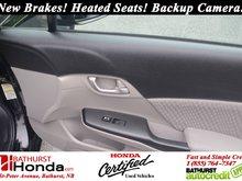 2015 Honda Civic Sedan LX New Brakes! Heated Seats! Backup Camera! Bluetooth!