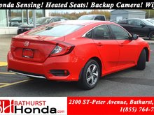 2019 Honda Civic Sedan LX Honda Sensing! Heated Seats! Backup Camera! Wifi!