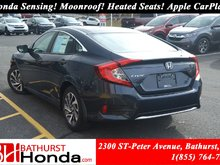 2019 Honda Civic Sedan EX Honda Sensing! Power Moonroof! Backup and Lane Camera! Push Start!