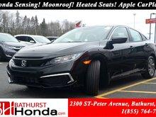 2019 Honda Civic Sedan EX Honda Sensing! Power Moonroof! Backup and Lane Camera! Push Start!