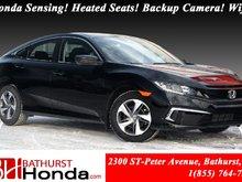 2019 Honda Civic Sedan LX 6 Speed Manual! Honda Sensing! Heated Seats! Backup Camera! Wifi!