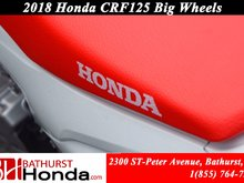 2018 Honda CRF125F Big Wheels Simplified Maintenance! Easy Start! Smooth from Stand-Still to Start!
