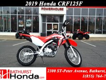 2019 Honda CRF125F  Dependable power, increased durability and simplified maintenance!