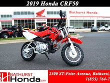 2019 Honda CRF50  Parental speed governor! Controls designed for young riders!