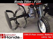 "9999 Honda F220  54.5cm (21.5"") tilling width for moderate jobs!"