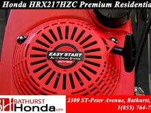 9999 Honda HRX217HZC  Effortless self-charging 12 VDC key start!