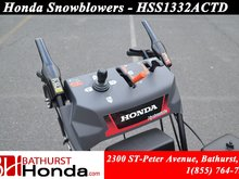 9999 Honda HSS1332ACTD  12 VDC electric start with manual recoil as backup!!