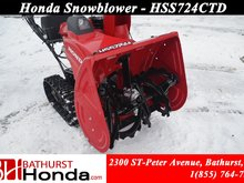 9999 Honda HSS724TCD  Clear up to 42 metric tons (up to 46 tons) of snow per hr!!