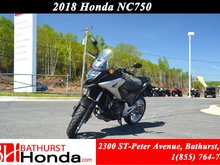 2018 Honda NC750 ABS Strong Power & Torque! Distinctive Sound and Feel! Exceptional Fuel Economy!!