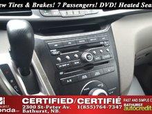 2011 Honda Odyssey EX New Tires & Brakes! V6! 7 Passengers! DVD! Heated Seats! Backup Camera! Bluetooth!