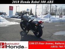 2018 Honda Rebel 300 - ABS Urban Street Appeal!