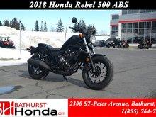 2018 Honda Rebel 500 - ABS Urban Street Appeal!