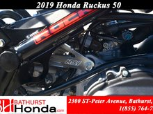 2019 Honda Ruckus NPS50 Longer Frame! Lower Seat!