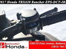 2017 Honda TRX420 Rancher - EPS - DCT - IRS Dual Clutch Transmission! Independant Rear Suspension! Electronic Power Steering!