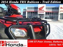 2014 Honda TRX500 Rubicon Power Steering! Rear Seat!