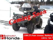 2013 Honda TRX500 Foreman Foot Shift! Rear Seat! Windshield! Winch!