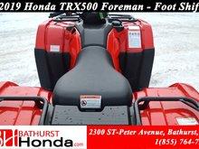 2019 Honda TRX500 Foreman Manual Foot Shift! Quick start! Powerful Output!