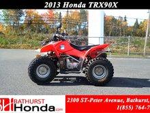 2013 Honda TRX90X
