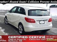 2014 Mercedes-Benz B-Class B 250 Sports Tourer Leather! Heated Seats! Attention Assist! Collision Prevent Assist!