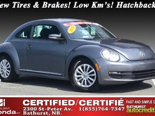2015 Volkswagen Beetle Coupe Trendline - Low Km's! New Tires & Brakes! Low Km's! Hatchback! Coupe!
