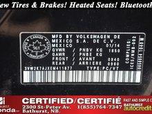 2014 Volkswagen Jetta Sedan Trendline+ - Low Km's! Low Km's! New Tires & Brakes! Heated Seats! Bluetooth! Power Options!