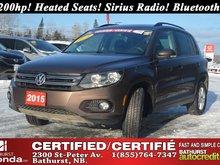 2015 Volkswagen Tiguan Trendline 200hp! Heated Seats! Sirius Radio! Bluetooth! Automatic!