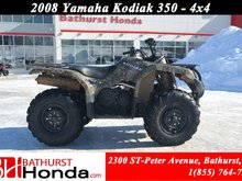 2008 Yamaha Kodiak 350 Automatic! Winch! Independent Suspension!